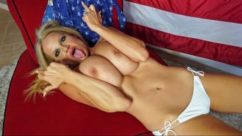 Kelly Madison in 'Fuck me red white and blue'