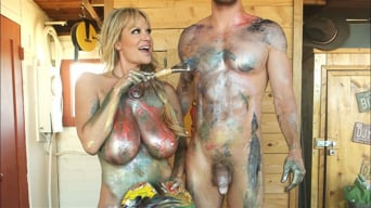 Kelly Madison in 'Kelly's Art Project'