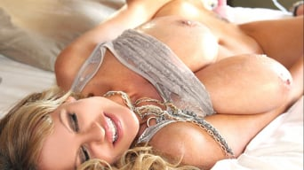 Kelly Madison in 'Lotions and Lace'