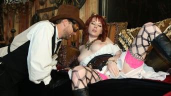 Zoey Nixon in 'Steam Spunk'